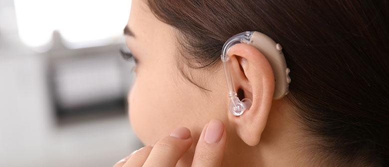 Prothèse auditive contour d'oreille BTE