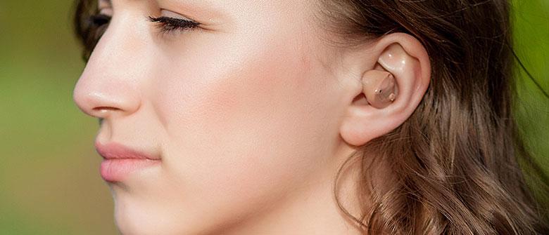 Prothèse auditive intra canal ITC