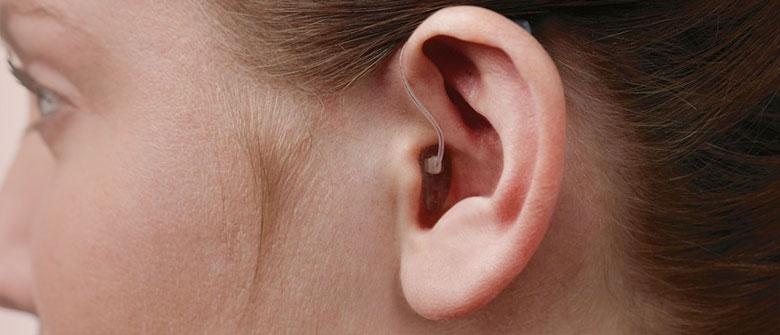 Prothèse auditive mini contour open BTE